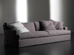Upholstered sofa bed with removable cover Bogart Collection by Meridiani Sofa Bed Design, Furniture Design, Sofas, Zen Room, Outdoor Sofa, Modern, Upholstery, Couch, Sofa Beds