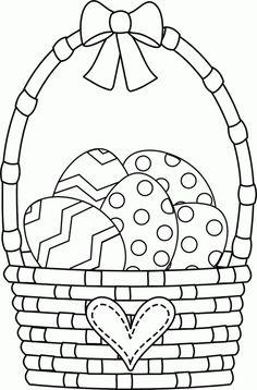 Kolorowanki Wielkanocne dla dzieci