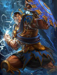 Some awesome artwork about Smite, by Brolo. Character Concept, Character Art, Concept Art, Character Design, Armor Concept, Mythology Books, Greek Mythology, League Of Legends, Greek Gods And Goddesses