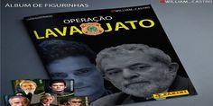 """Disso Voce Sabia?: Álbum de figurinhas """"Operação Lava-Jato"""" chega as bancas e faz maior sucesso"""
