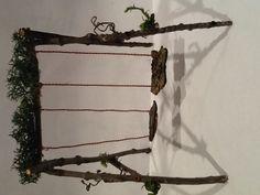 Swing set for fairy garden