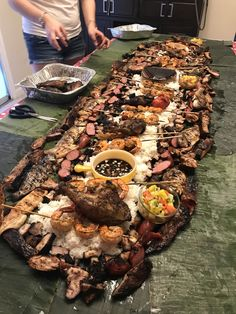 [Homemade] BBQ Boodle Fight