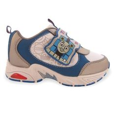 "Thomas & Friends ""Tank Engine"" Train Toddler Velcro Athletic Blue Shoes - Size 6 Thomas & Friends,http://www.amazon.com/dp/B005VICPXQ/ref=cm_sw_r_pi_dp_eB4wrb17YTYVGYHJ"