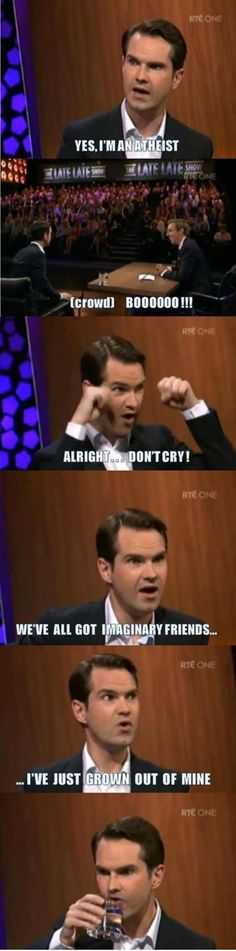 Jimmy Carr - in Ireland...<<<OHH! THIS IS PERFECT <<< I'm gonna start using this on people who don't respect my religion