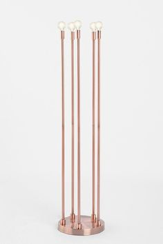 Five-Arm Copper Floor Lamp  #UrbanOutfitters