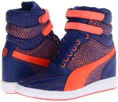 Puma Sky Wedge Reptile Women's Shoes on shopstyle.com