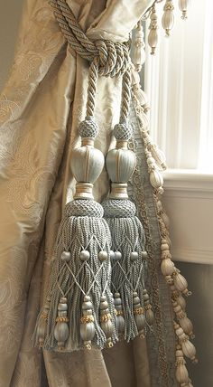 Samuel and Sons Passementerie - Tassel Tie-Backs Traditional Style #window-treatments