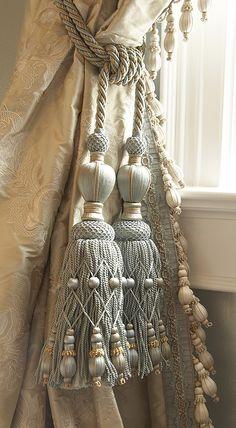 Curtain Tieback Amp Tassel On Pinterest Tassels Curtain