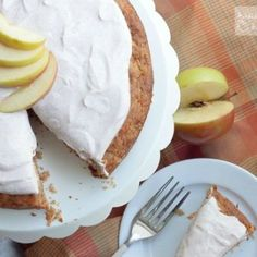 Apple Carrot Cake with Greek Yogurt Frosting
