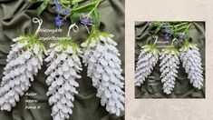 Pine Cones, The Creator, Christmas Decorations, Wreaths, Crochet, Stitch, Youtube, Knitting, Diy