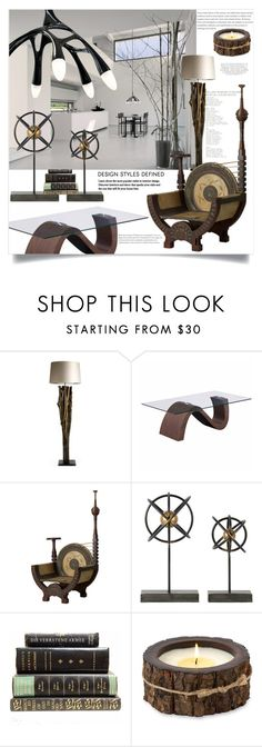 """""""Design Elements & Combinations"""" by ildiko-olsa ❤ liked on Polyvore featuring interior, interiors, interior design, home, home decor, interior decorating, Zuo and Himalayan Trading Post"""