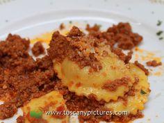 Tortelli with Ragù Sauce