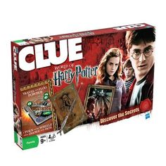 CLUE World of Harry Potter Edition Game
