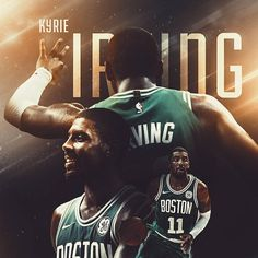 "483 Likes, 23 Comments - @ghostmemes_ on Instagram: ""Kyrie Irving Boston Celtics artwork. What will be Boston's record next season?"""