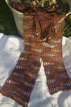 Free Crochet Scarf on Ravelry.