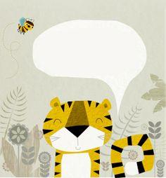 tiger illustration | Rebecca Elliott