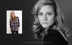 Raleigh Cary Beauty Portrait Head Shot Personal Branding Photographer