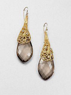 Abs By Allen Schwartz Jewelry Feather Drop Earrings Now Add This Pinterest
