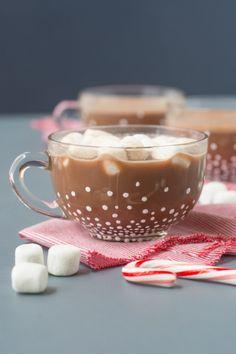 DIY Snowy Cocoa Mugs