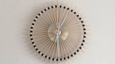 Make an Awesome Clock Using Lolly Sticks!
