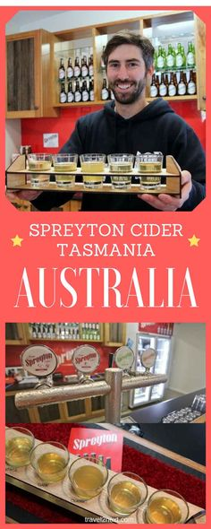 Spreyton Cider – Tasmanian cider. It doesn't get much more picturesque or quintessentially Tasmanian than the view from the cellar door at Spreyton Cider on a sunny day.