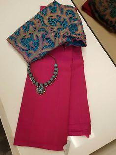Order contact my whatsapp number 7874133176 Cotton Saree Designs, Sari Blouse Designs, Blouse Patterns, Latest Saree Blouse, Cotton Saree Blouse, Saree Styles, Blouse Styles, Kalamkari Saree, Indian Silk Sarees