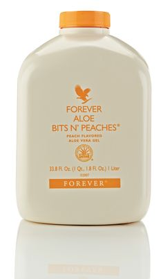 A sensation like no other! #Forever Aloe Bits N Peaches contains real chunks of #aloevera, bathed in the tastiness of sun-ripened peaches! http://wu.to/iA4olK