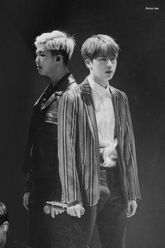 Rap Monster & Jin © LOVES ME | Editing allowed, must credit.
