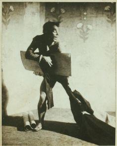 Vaslav Nijinsky in Til Eulenspiegel. (1916) wish I could have been there! (: