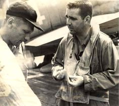 /Butch_leading_Crew_Chief_Williams. This Day in WWII History: Feb 20, 1942: Pilot O'Hare becomes first American WWII flying ace
