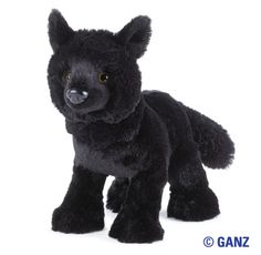 Webkinz Black Wolf $13.95