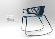 Whale Chair par Maxence Courtier : Mini Rocking 2012 - DESIGN INDEX