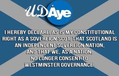 Reasserting Your Sovereignty... U.D.aye