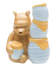 Look what I found on #zulily! Winnie the Pooh Salt & Pepper Shakers by Disney #zulilyfinds