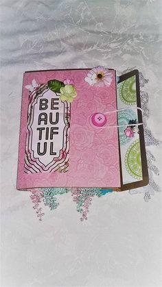 Shabby Chic Album Journal Baby Girl Album Journal Keepsake Girls Album, Baby Girl Gifts, Shabby Chic, Journal, Decor, Chic, Decoration, Decorating, Journal Entries