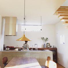 キッチン モルタル