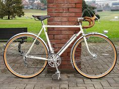 The catalogs of Japanese vintage bicycle Bridgestone Grand Velo concept rando
