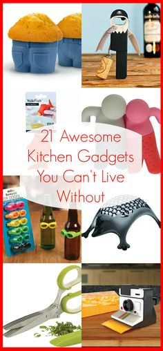 21 Awesome Kitchen Gadgets You Can't Live Without - These are so funny, clever and useful! | www.pinkrecipebox.com