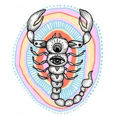 Doodle pen line project Psychedelic Art, Scorpio Art, Aesthetic Art, Art Inspo, Illustration Art, Illustrations, Art Drawings, Art Photography, Canvas Art