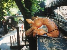 Huge dragon i made for Tivoli in Copenhagen in 2006. Had so much fun making this
