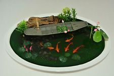 3D Goldfish Paintings In Resin Water - Acrylic, Animals, Art Deco