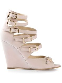 Chloé High Wedge Sandal - Biondini Paris - Farfetch.com