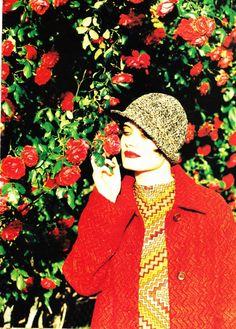 Vogue US – September 1996  *  editorial: This side of Paradise  models: Stella Tennant, Iris Palmer  *  photographer: Ellen von Unwerth