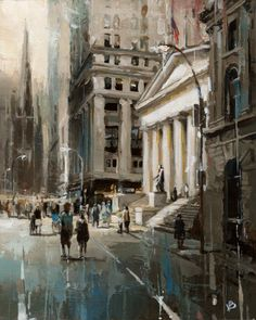 Victor Bauer - Wall Street No.2