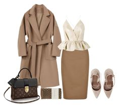 """""""Untitled #591"""" by dvrchnskaya ❤ liked on Polyvore featuring Hobbs, Falke and Delpozo"""