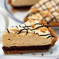 Black-Bottom Peanut Butter Mousse Pie - soooooo good, and fancy enough for Christmas or Thanksgiving