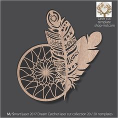 Detailed dream catcher template for laser cutting. Laser Art, Laser Cut Wood, Laser Cutting, Dream Catcher Vector, Hoop Dreams, Bad Dreams, Laser Cutter Projects, Laser Cut Files, Dreams And Nightmares