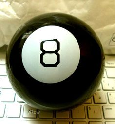 #Magic #Boule #number8 #toy story @LauryRow   like my page here :: https://www.facebook.com/pages/Disneycollecbell/603653689716325