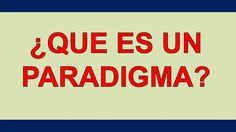 Que Es Un Paradigma | Miguel Angel Cornejo