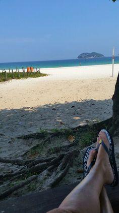 Praia do Pepê em Rio de Janeiro, RJ